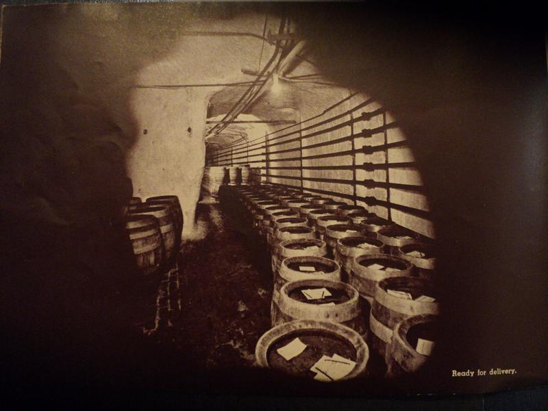 "Yoerg's ""Cave-Aged"" Beer"